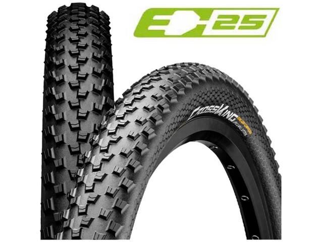 "Continental Cross King II Performance 2.2 Folding Tyre 27"" black"